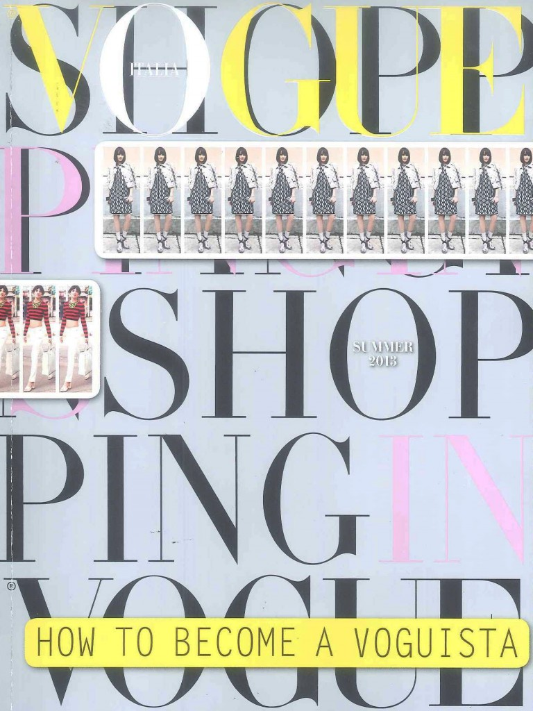 VOGUE SHOPPING COVER