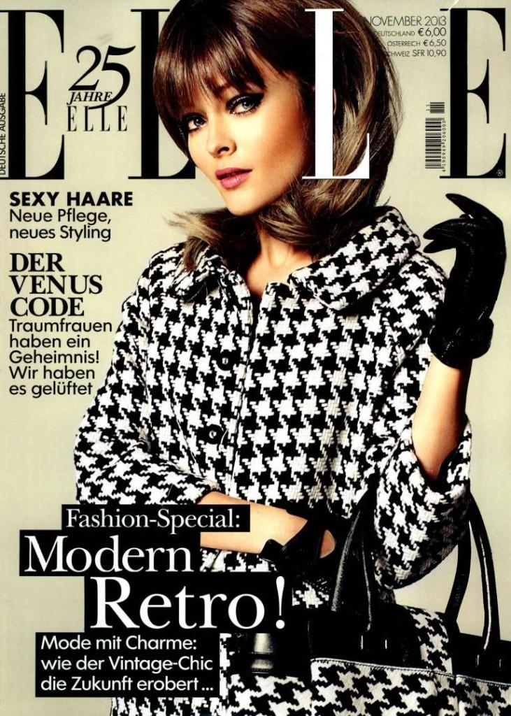 ELLE D November, 2013 cover