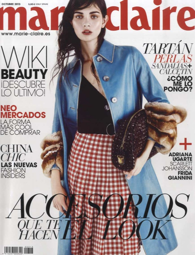 MARIE CLAIRE SPAIN oct 13 GIAMBATTISTA VALLI cover