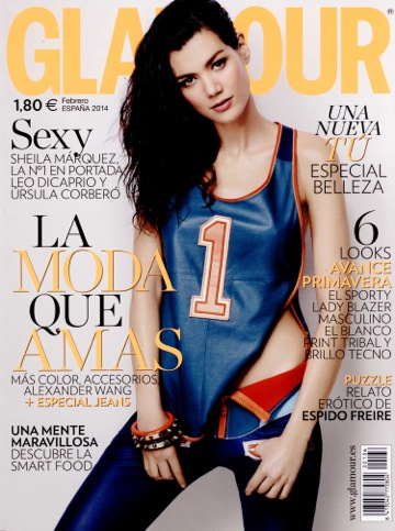GLAMOUR SPAIN feb 14 GIAMBATTISTA VALLI cover