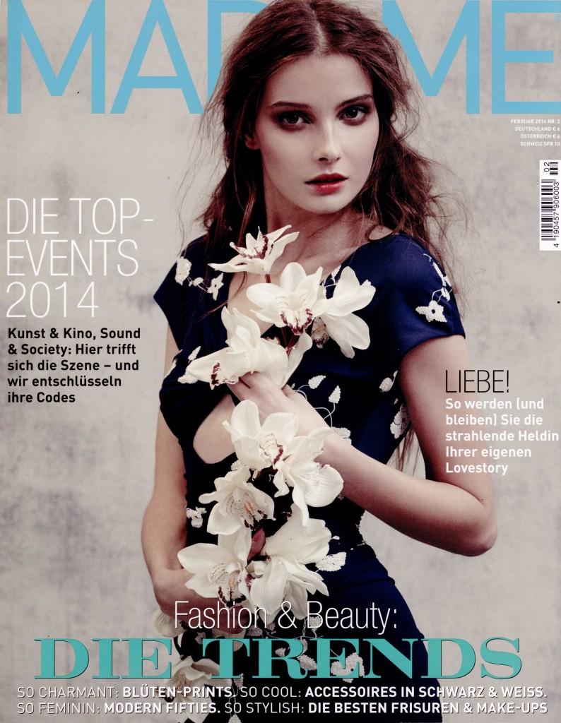 MADAME GERMANY feb 14 GIAMBATTISTA VALLI cover