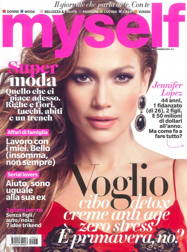MYSELF MARZO 2014 COVER