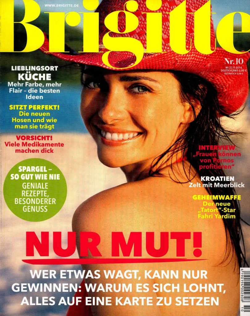 Brigitte GER 2014-4-23 Cover