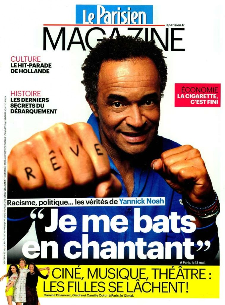 Le Parisien Magazine FRA 2014-5-23 Cover