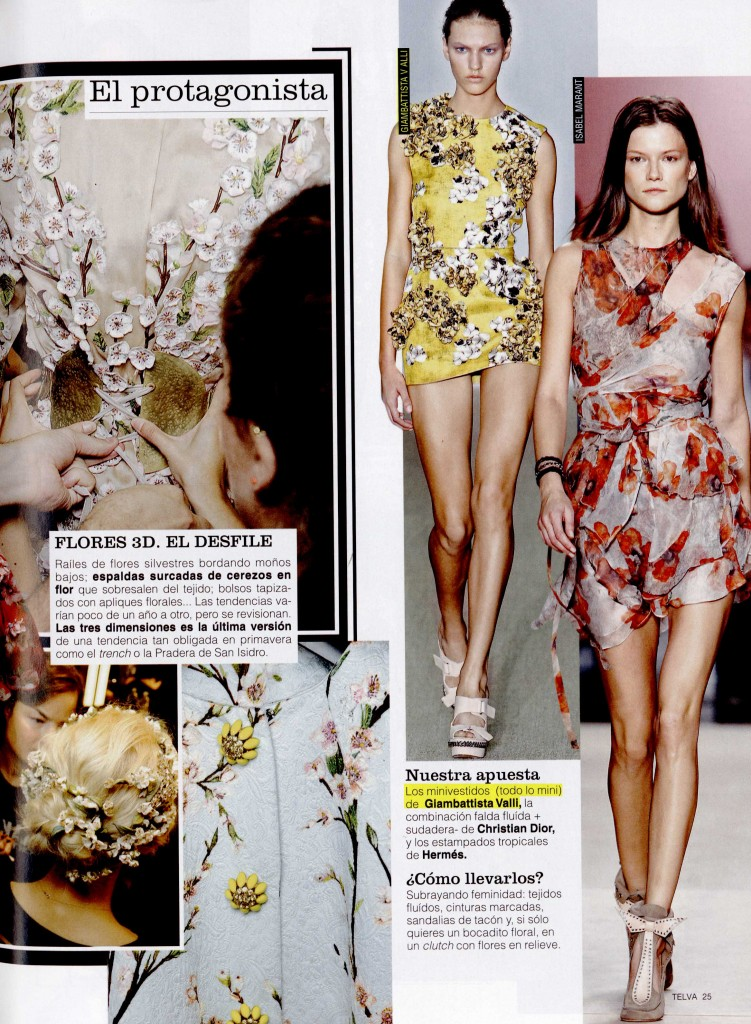 TELVA COLLECTIONS & ACCESSORIES SPAIN ss 14 GIAMBATTISTA VALLI 1