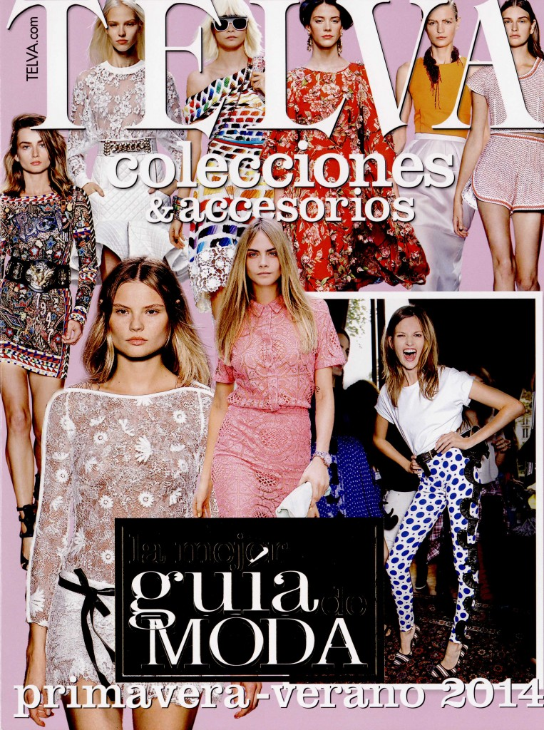 TELVA COLLECTIONS & ACCESSORIES SPAIN ss 14 GIAMBATTISTA VALLI cover