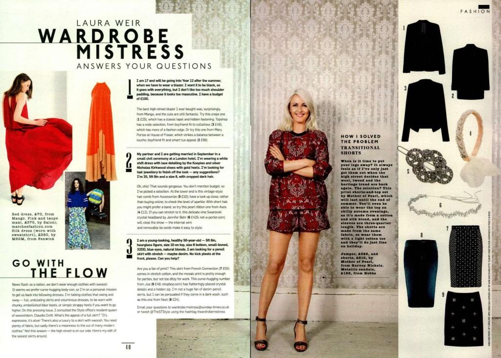 MSGM - The Sunday Times Style UK 2014-7-20
