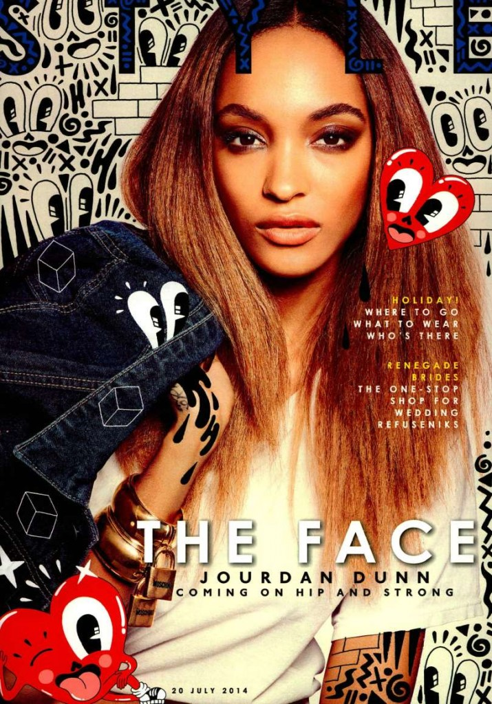 MSGM - The Sunday Times Style UK 2014-7-20 - Cover