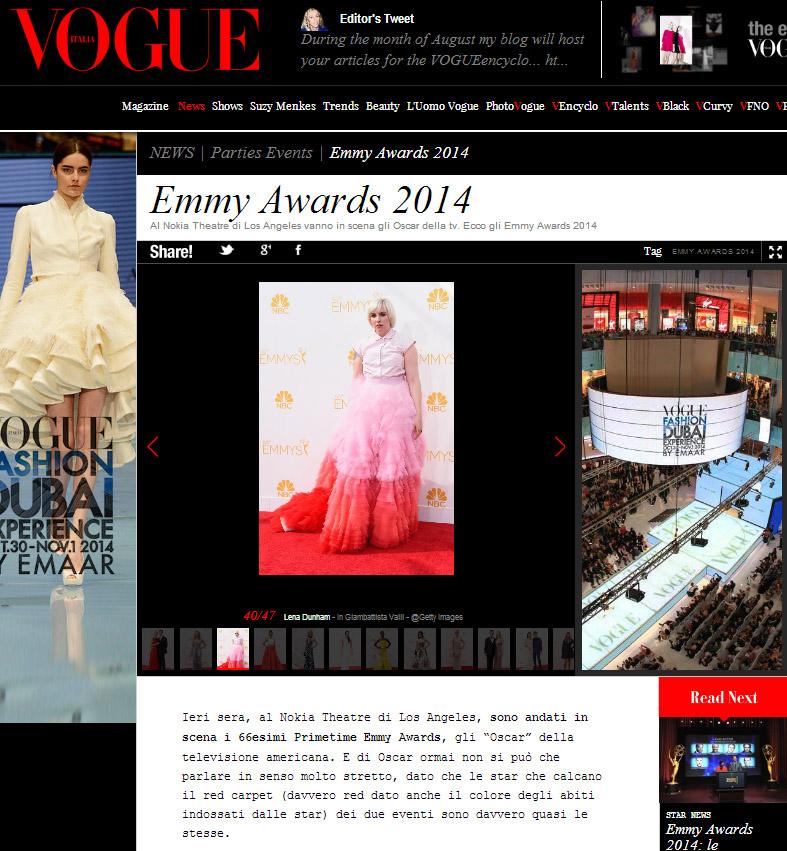 Vogue.it 27.08.14