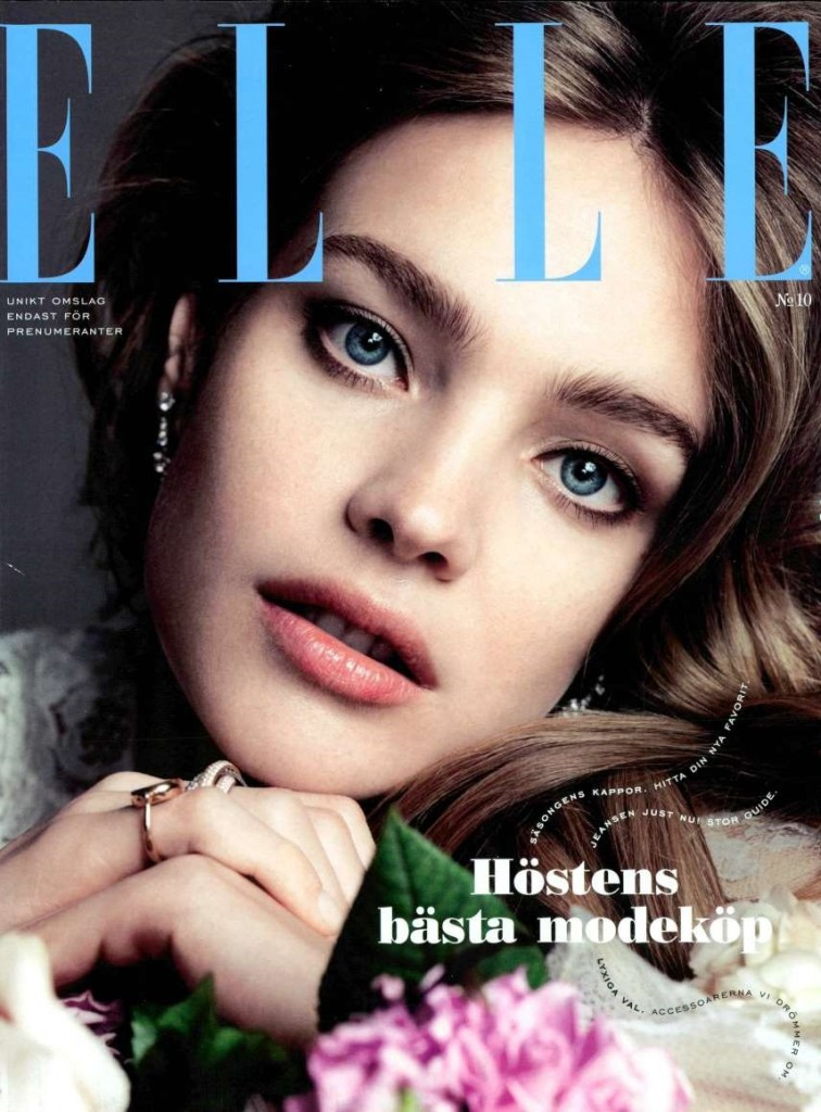 ELLE SW DATED OCTOBER 2014 Cover