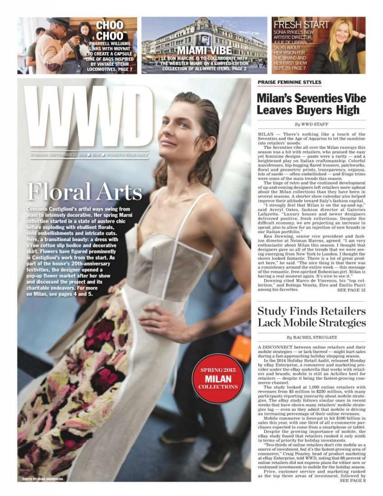 WWD - 23 SEPTEMBER 2014 - COVER