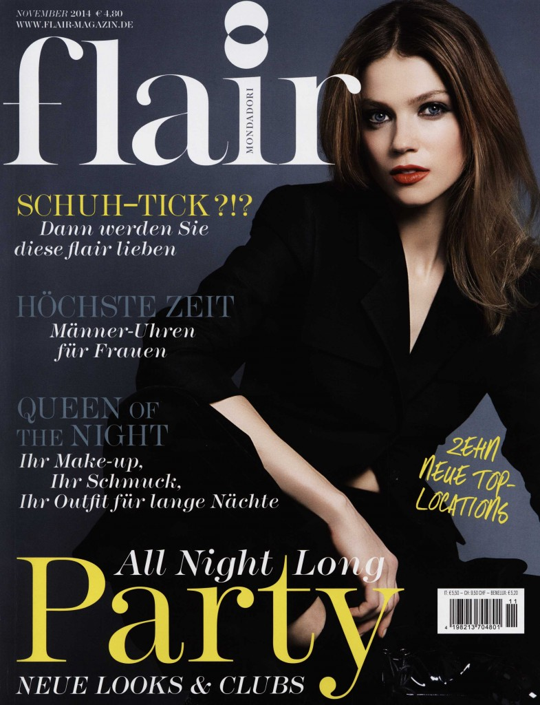 FLAIR GERMANY nov 14 GIAMBATTISTA VALLI cover