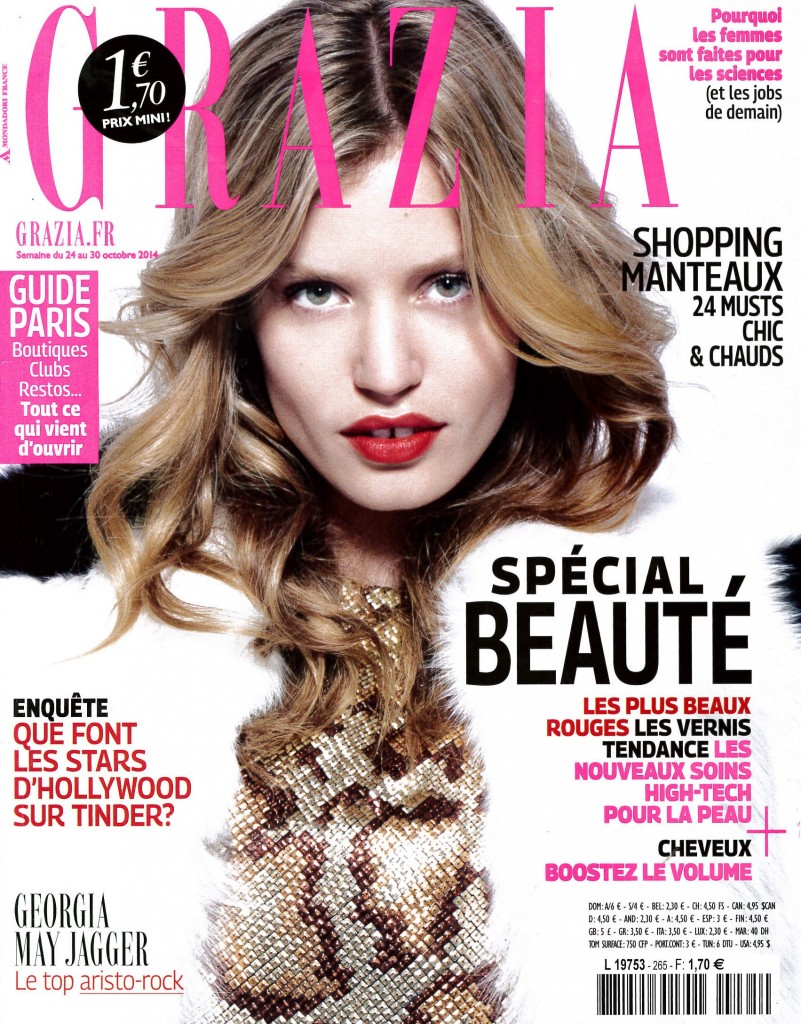 GRAZIA DATED OCTOBER 24TH-30TH 2014 Cover