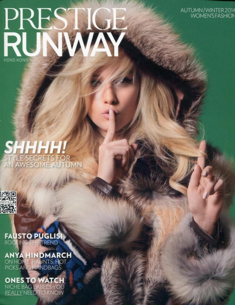 Prestige Magazine HKG - Runway 2014-9-1 Cover