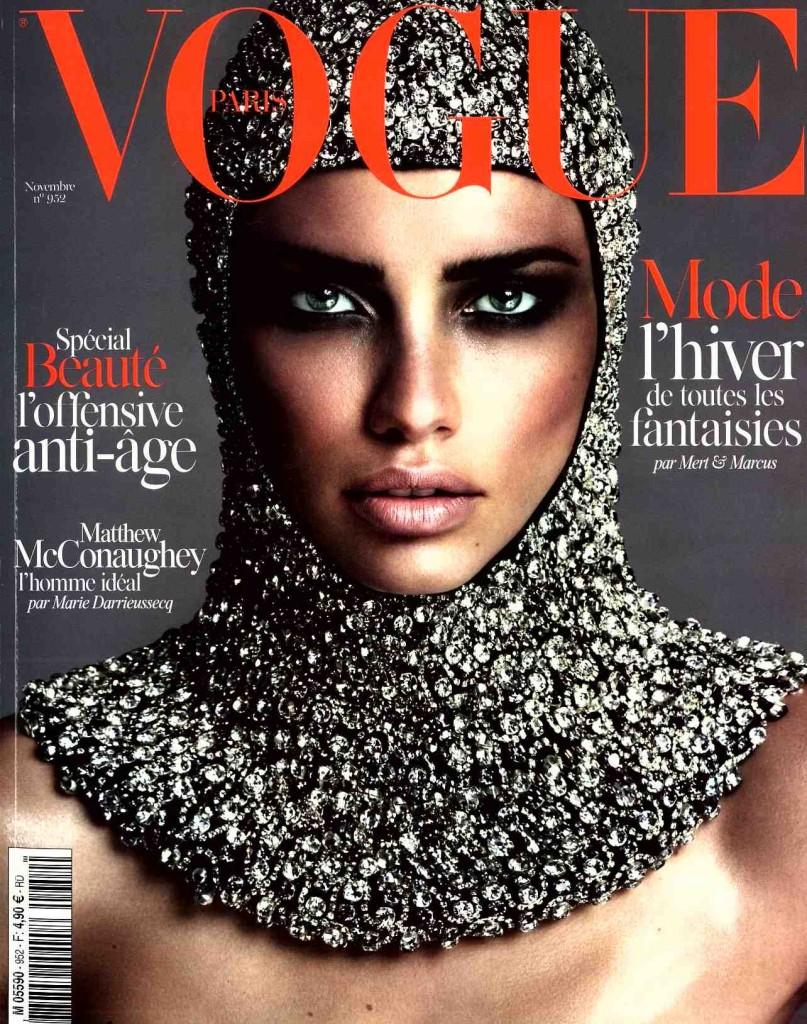 VOGUE FR - NOV14 - COVER