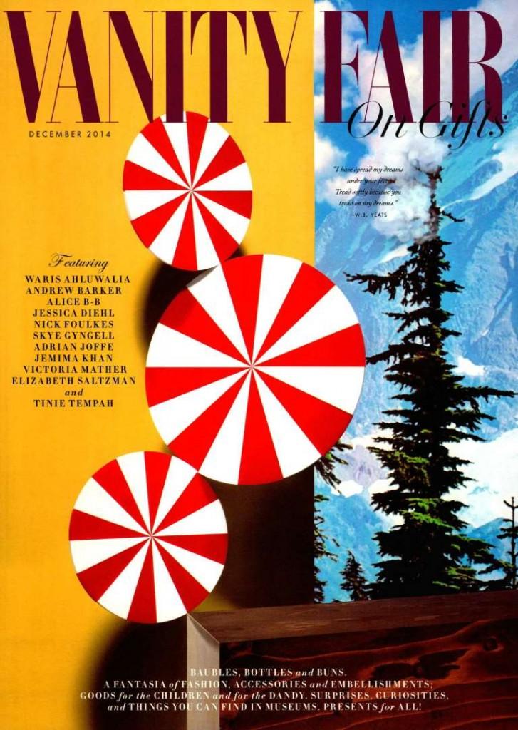 VANITY FAIR UK AL CREDIT DECEMBER 2014 - Cover