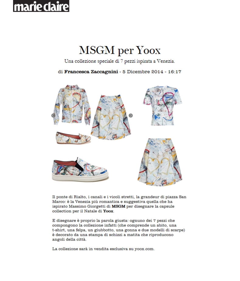 MSGM - MARIECLAIRE.IT - 05DEC14