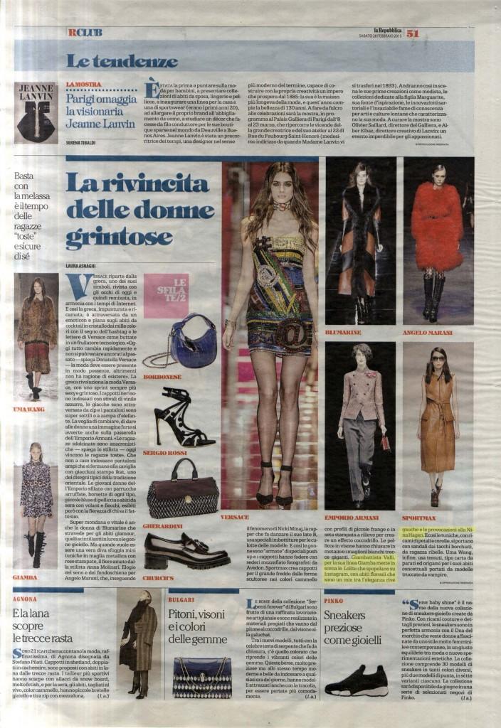La Repubblica 28.02.15 p.51