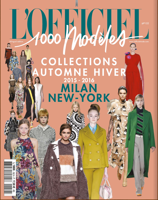 L'OFFICIEL 100 MODÉLES - SS 15 - COVER