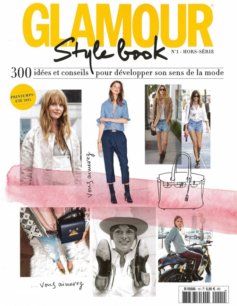 GLAMOUR HORS SERIE STYLE BOOK DATED SPRING SUMMER 2015 Cover