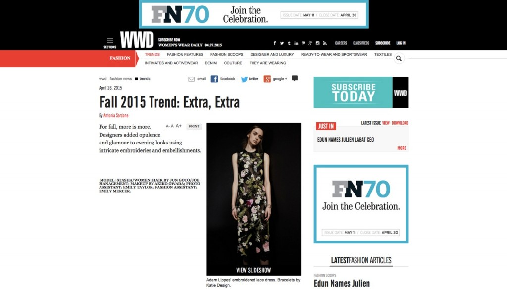 WWD AL CREDIT 27 APRIL 2015