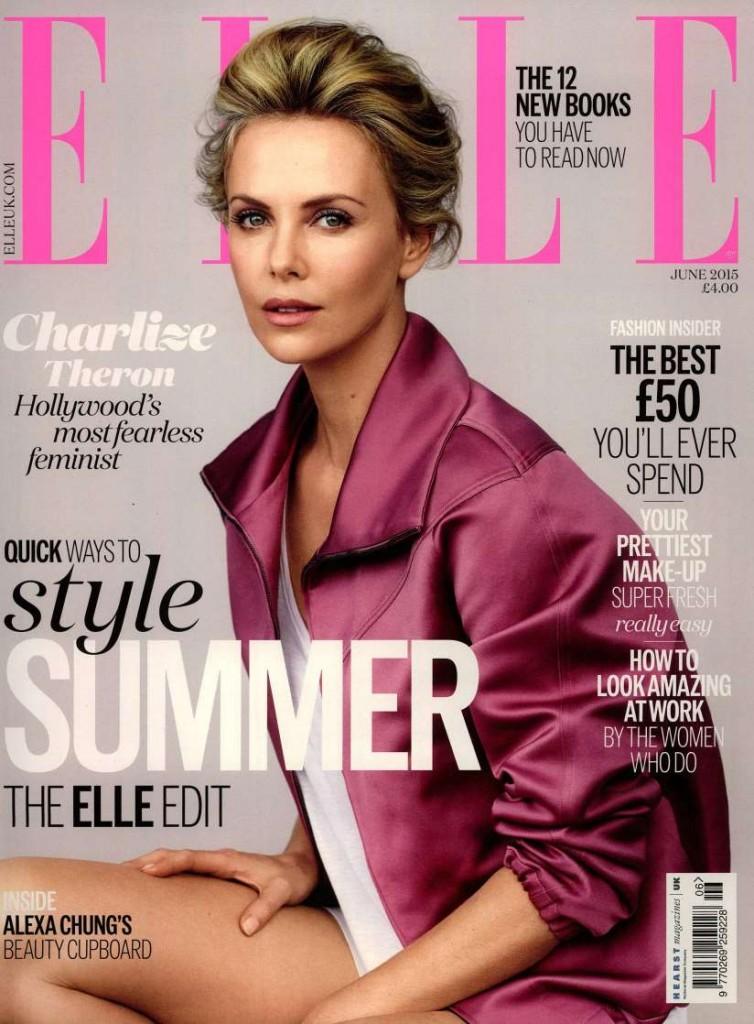 Elle UK 2015-6-1 Cover