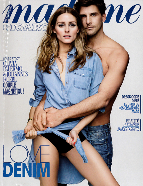 MADAME FIGARO SPECIAL JEANS DATED MAY 29TH - 30TH 2015 Cover