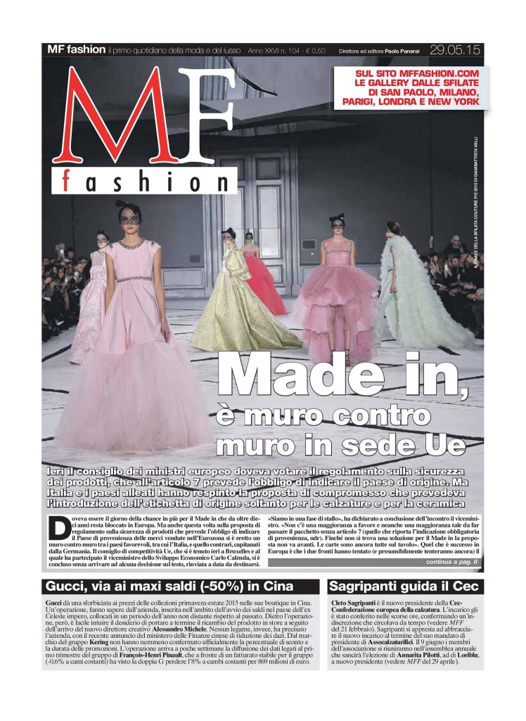 MF Fashion 29.05.15 Cover