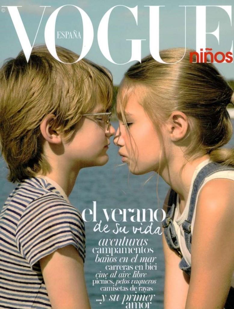 Vogue Ninos SPA 2015-4-1 Cover