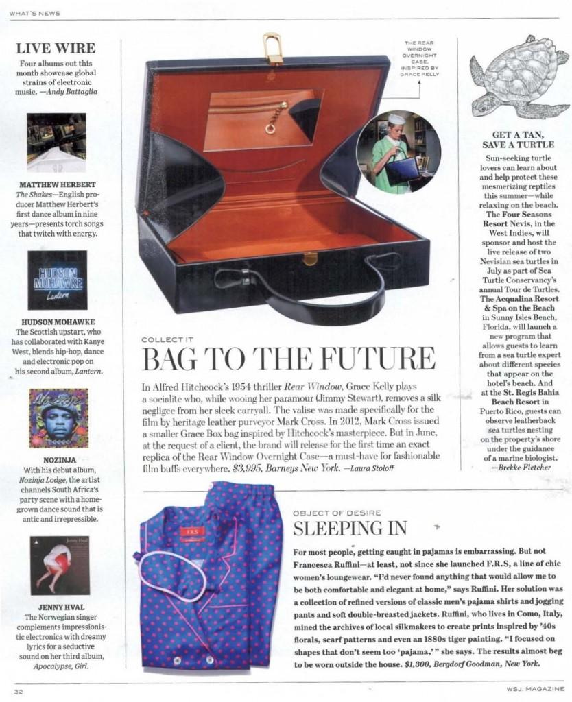 WSJ Magazine 6.16 p.32