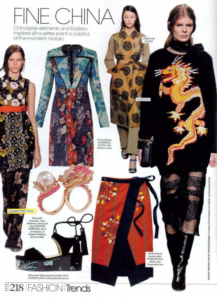 Elle - October 2015 - pg. 218