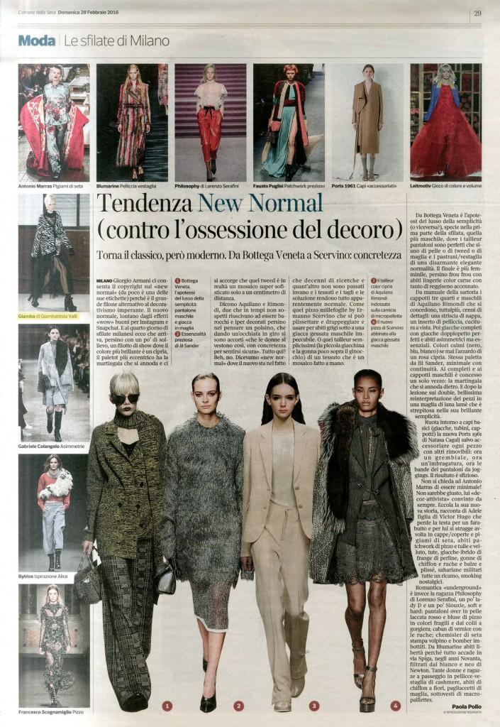 Corriere della Sera 28.02.16 p.29