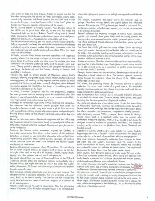 MSGM - L'OFFICIEL 1000 MODELES FRA - 1APR16 (2)