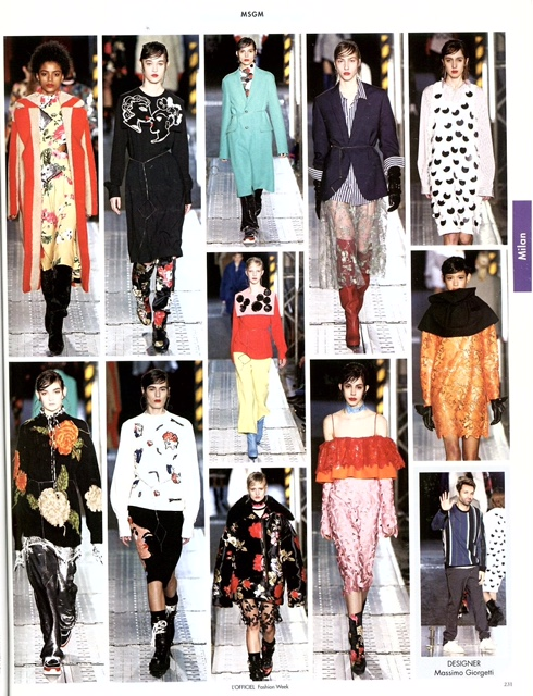MSGM - L'OFFICIEL FASHION WEEK - APRIL16 (2)