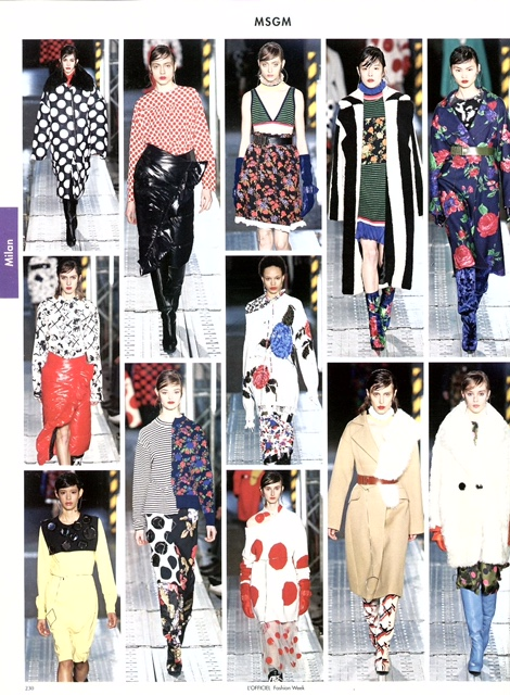 MSGM - L'OFFICIEL FASHION WEEK - APRIL16