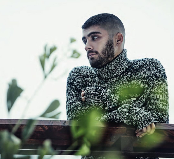 Zayn Malik for the launch of Z book