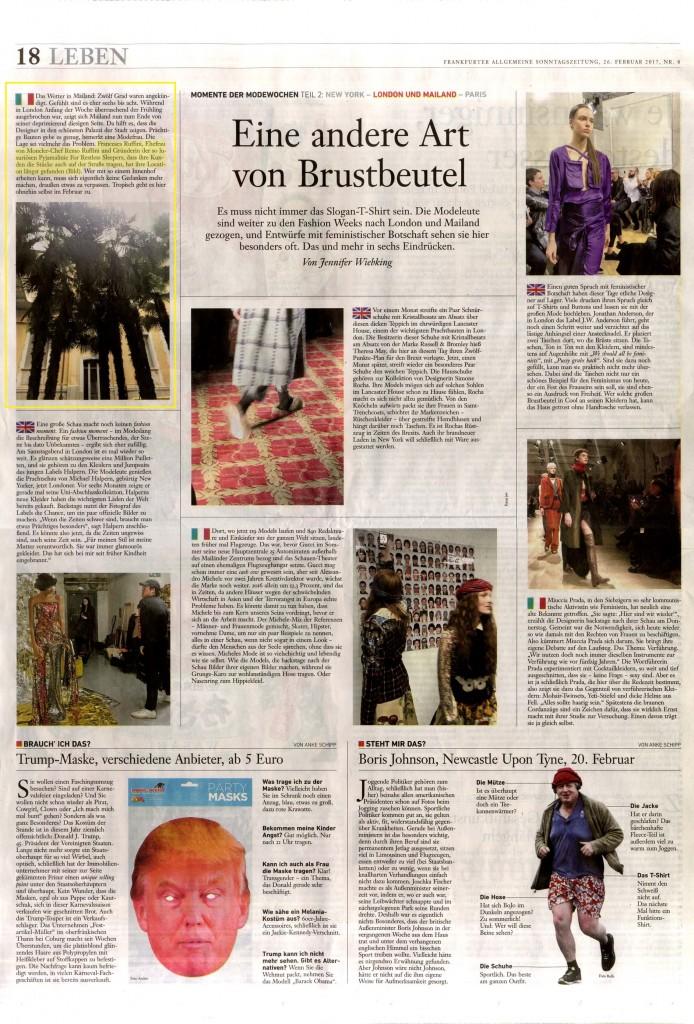 Frankfurter Allgemeine Sonntagszeitung 26.02.17 p.18