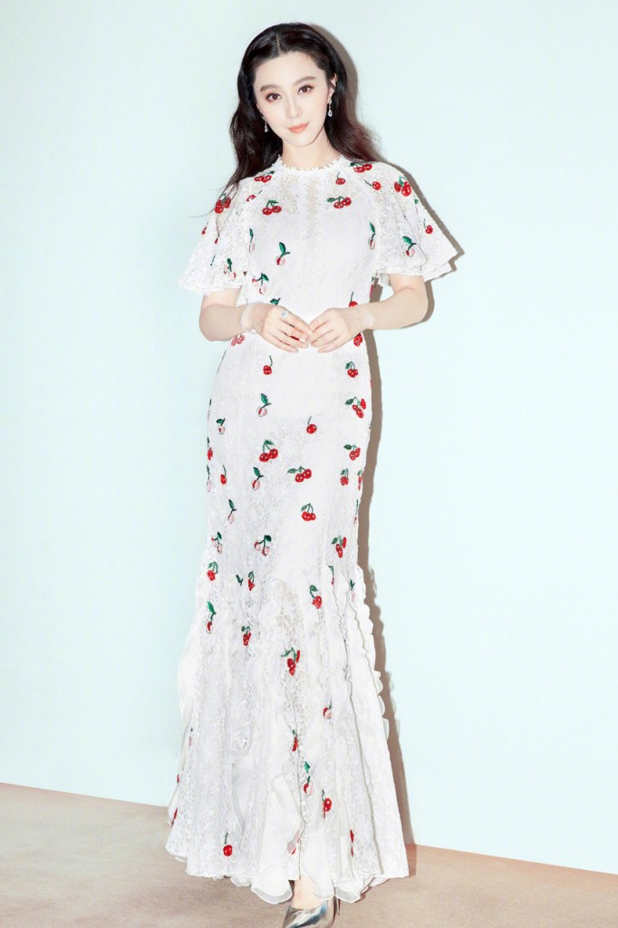 Fan BingBing wore a Giambattista Valli