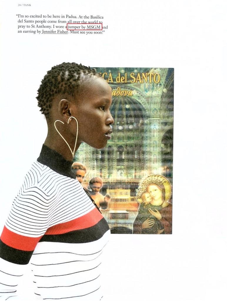 MSGM - TANK - WINTER 2017 ISSUE - STYLING CAROLINE ISSA