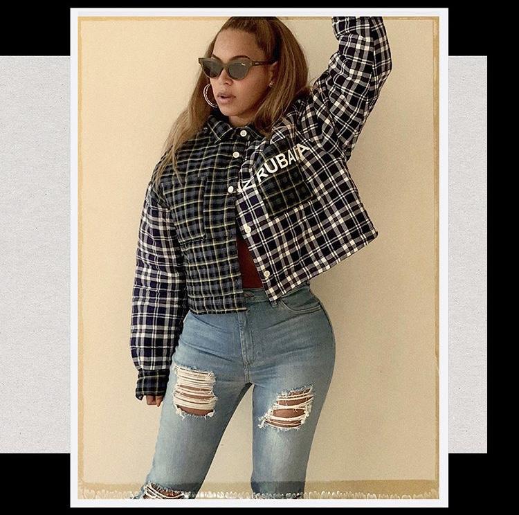 Beyonce wearing natasha zinko