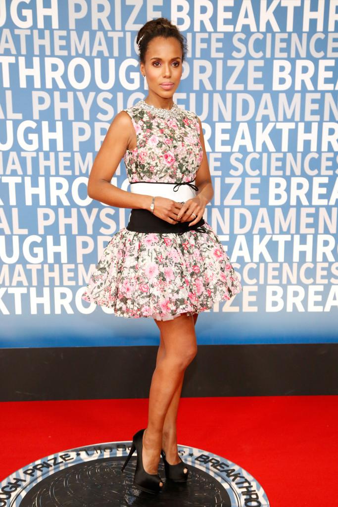 Kerry Washington wears Giambattista Valli Haute Couture