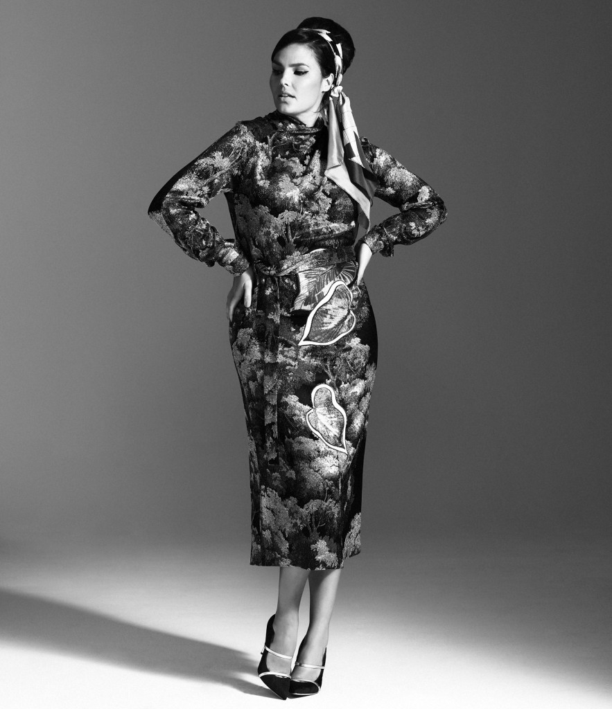 Marco de Vincenzo in The MOD Magazine - December cover - Candice Huffine