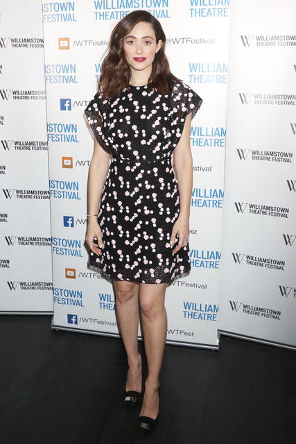 Emmy Rossum wears Giambattista Valli