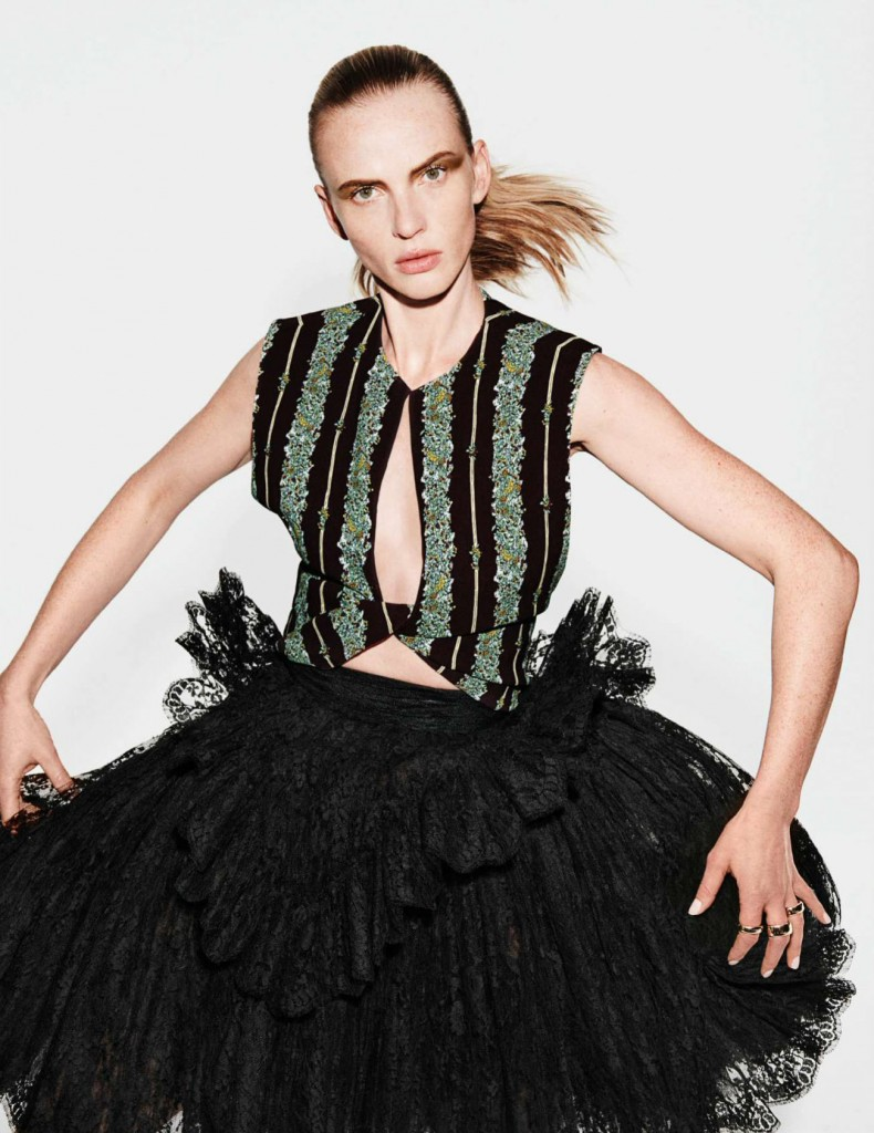 GIAMBATTISTA VALLI SPRING SUMMER 18 EDITORIAL - ELLE Friday, February 9th Issue