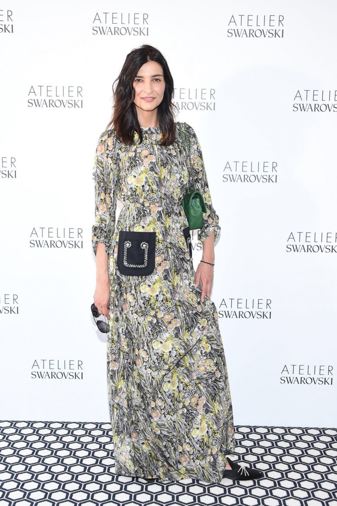 Antigone Kouloukakos wears N21 in Cannes