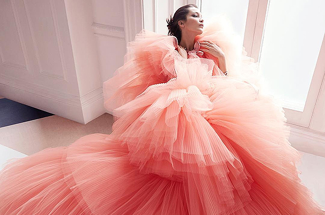 Giambattista Valli in Harper's Bazaar US June: July 2018
