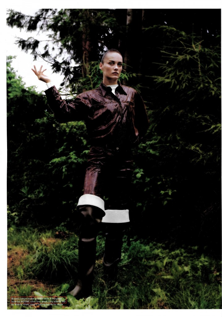 MSGM - POP UK - FW18 ISSUE - STYLING CHARLOTTE COLLET